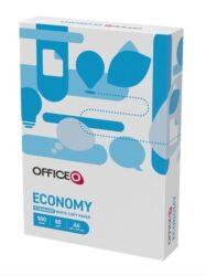 Papír kancelářský  A4  80g  500 listů-Kancelářský papír pro černobílý i barevný tisk Formát: A4 Gramáž: 80 g/m2 Vhodný pro kopírky, laserové a inkoustové tiskárny Balík 500 listů, 5 balíků v kartonu