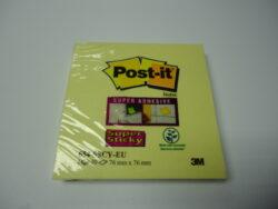 Bloček samolepící 76x76  Post-It Super Sticky