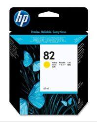 Náplň inkoustová C4913A yellow, 69ml  HP82