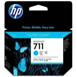 Náplň inkoustová HP 711  CZ134A 3x29ml cyan
