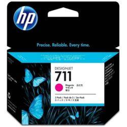 Náplň inkoustová HP 711  CZ135A 3x29ml magenta