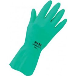 Gloves green ULTRANITRIL No.10-10,5