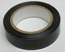 Páska PVC izolační  0,13mm x 15mm x 10m  -  černá