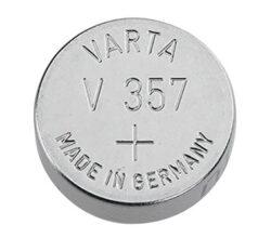 Baterie Varta V357  1,55V   Silver   SR44-1,55V;  145mAh;  průměr 11,6 mm;  výška 5,4mm