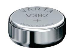 Battery Varta V392 1,55V SR41 W; LR41-1,55V;  38mAh;  průměr 7,9 mm;  výška 3,6mm