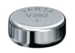 Baterie Varta  V392  1,55 V  SR41 W  LR41-1,55V;  38mAh;  průměr 7,9 mm;  výška 3,6mm