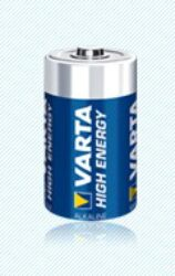 Baterie Varta  4914  malý mono   1,5V-velikost C;  LR14;  délka 50,0mm