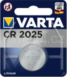 Baterie Varta CR2025 3V
