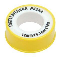 Páska teflonová 12mm x 0,1mm x 10m