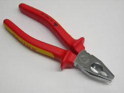 Combination pliers insulated VDE 1000V 180mm