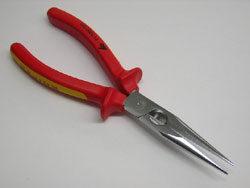 Kleště ploché zaoblené  200mm   Knipex 713300