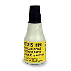 Barva razítková  NORIS černá  25ml