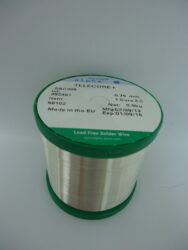 Drát pájecí TELECORE+ 2,2%  0,75mm  0,5kg cívka SAC 305