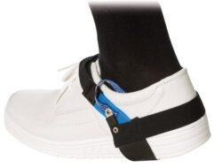 ESD -  Pásek na boty pod patu-Barva modrá/černá. Zapínání na suchý zip.