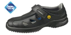 ESD shoes ABEBA 36796 size 42-vESD sandál antistatický